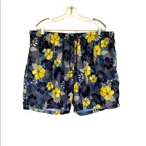 New Tommy Bahama Hibiscus Floral Swim Shorts XXL